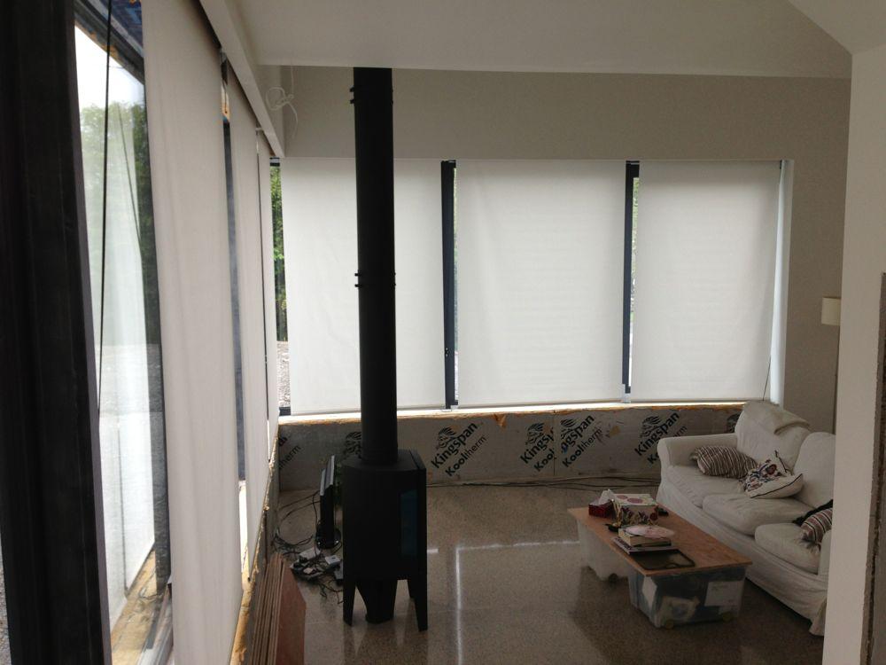 Vertical Blinds In Living Room Installed Jackdaw Ridge