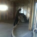 Big grinding machine at work in the Kitchen