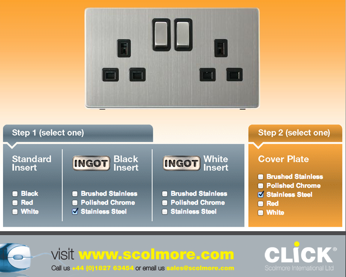 Click Definity Lights & sockets